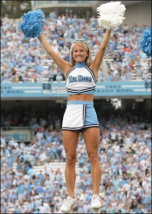 North Carolina Cheerleader